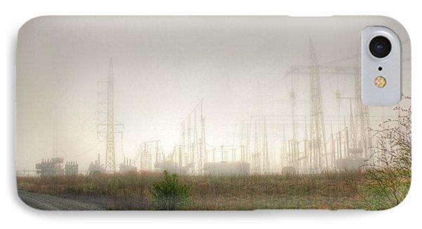Industrial Skeleton IPhone Case by Dan Stone