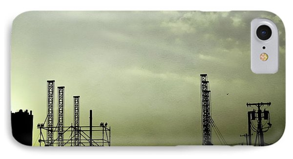 Industrial Sky Phone Case by Colleen Kammerer