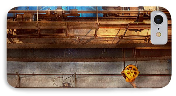 Industrial - The Gantry Crane Phone Case by Mike Savad