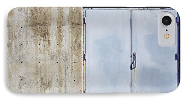 Industrial Unit Double Doors Phone Case by Nathan Griffith