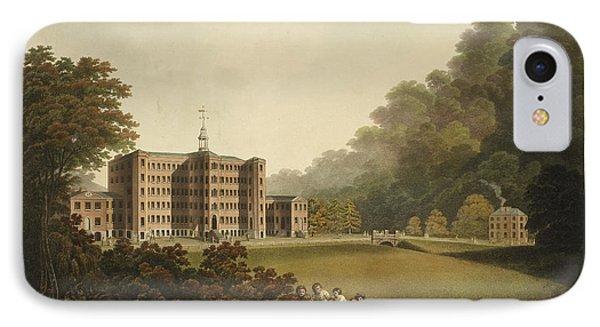 Industrial Woollen Mill In 1803 IPhone Case