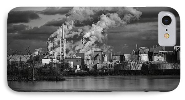 Industry In Black And White 1 IPhone Case