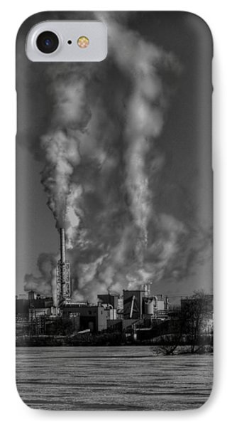 Industry In Black And White 2 IPhone Case
