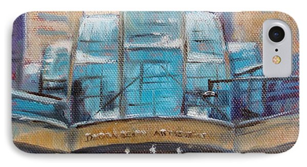 Indy Arts Garden Winter Phone Case by Donna Shortt