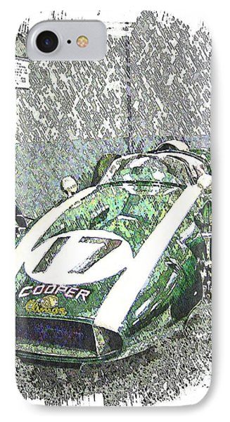 Indy Race Car 5 IPhone Case by Spencer McKain