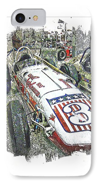 Indy Race Car 6 IPhone Case by Spencer McKain