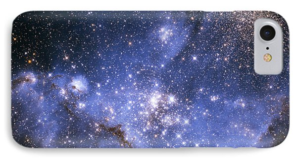 Infant Stars In The Small Magellanic Cloud IPhone Case by Nasa