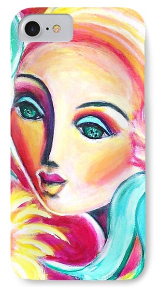 IPhone Case featuring the painting Infatuated by Anya Heller