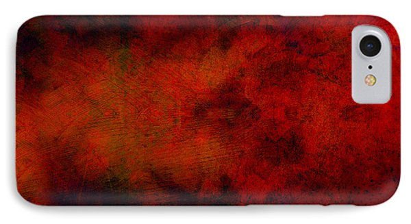 Inferno - Abstract - Art  Phone Case by Ann Powell