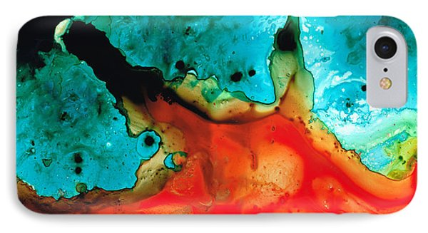 Infinite Color - Abstract Art By Sharon Cummings Phone Case by Sharon Cummings