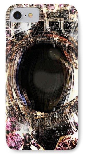 Infinite Depth Of Dreamers Eye Phone Case by Shawna Cheatham