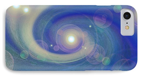 Infinity Blue IPhone Case by First Star Art