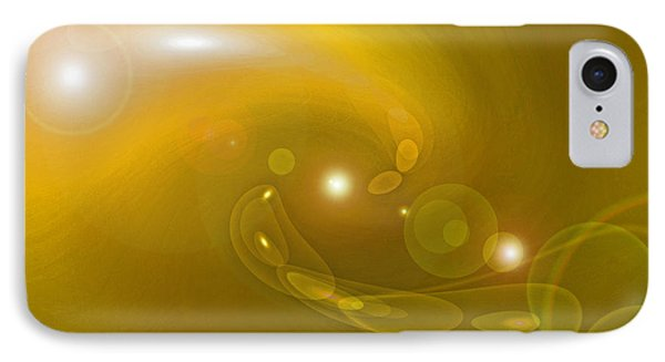 Infinity Yellow IPhone Case by First Star Art