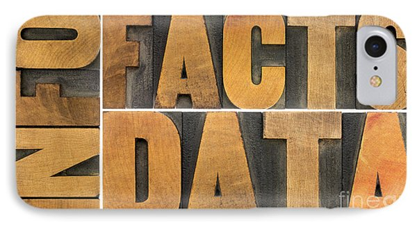 Information Data Facts IPhone Case by Marek Uliasz