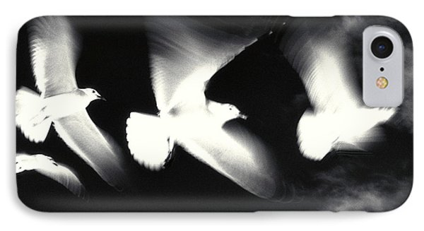 Infrared Gulls Phone Case by Jerry McElroy
