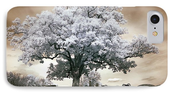 Infrared Tree On A Hill In Gettysburg IPhone Case by Paul W Faust -  Impressions of Light