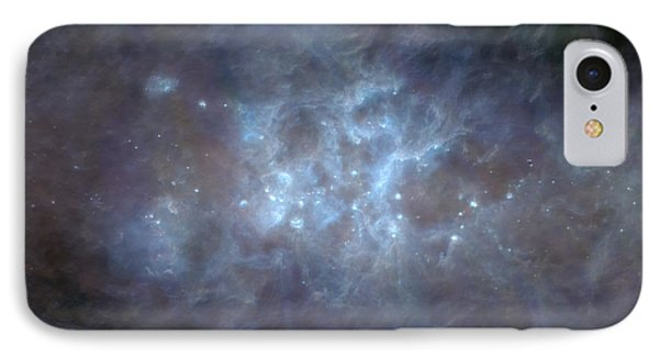 IPhone Case featuring the photograph Infrared View Of Cygnus Constellation by Science Source