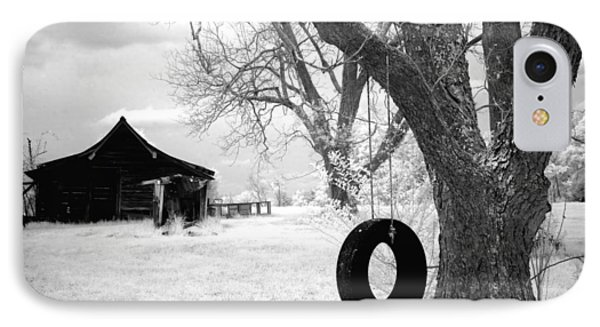 Infrared View Of Rural Alabama IPhone Case by Carol M Highsmith
