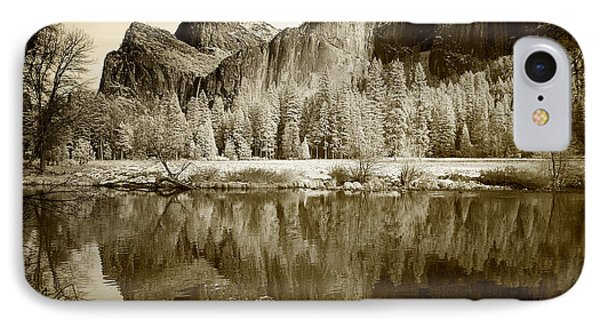Infrared View Of Yosemite IPhone Case by Carol M Highsmith