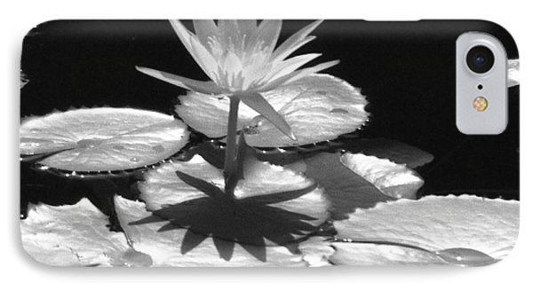 Infrared - Water Lily 02 IPhone Case by Pamela Critchlow