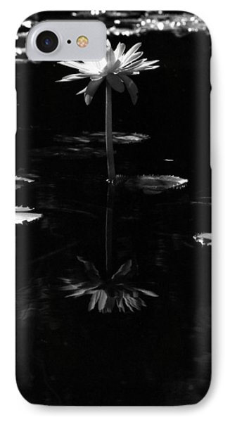 Infrared - Water Lily 03 IPhone Case by Pamela Critchlow