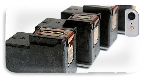Ink Cartridges Phone Case by Sinisa Botas