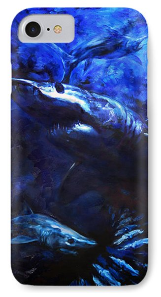 Inky Waters IPhone Case by Tom Dauria