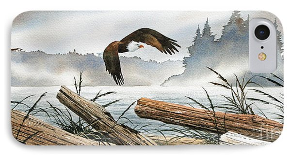 Inland Sea Eagle Phone Case by James Williamson