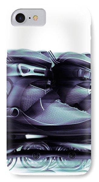 Inline Skates Rollerblades Artistic Dynamic Still Ife Phone Case by Oleksiy Maksymenko