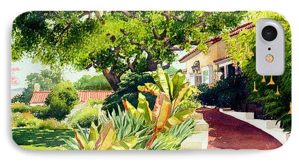 Inn At Rancho Santa Fe IPhone Case by Mary Helmreich