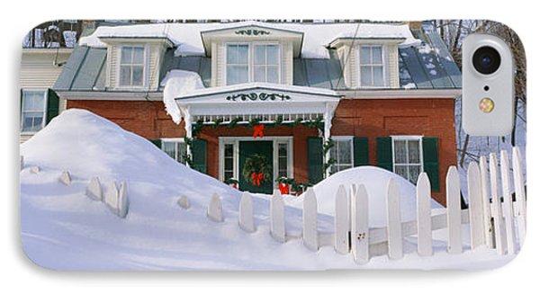 Inn At Wintertime, Vermont IPhone Case