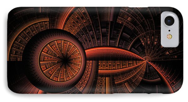 IPhone Case featuring the digital art Inner Core by GJ Blackman