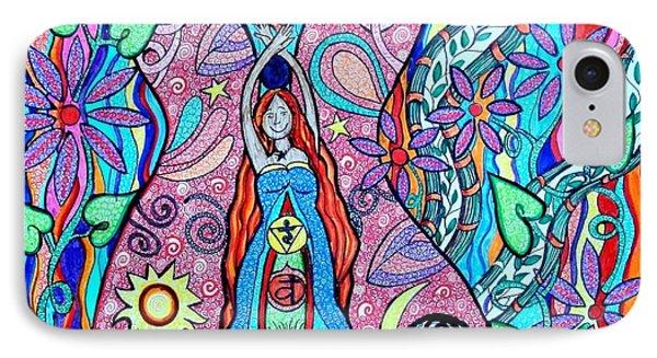 Inner Goddess Phone Case by Kim Larocque