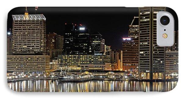 Inner Harbor - Baltimore Maryland IPhone Case
