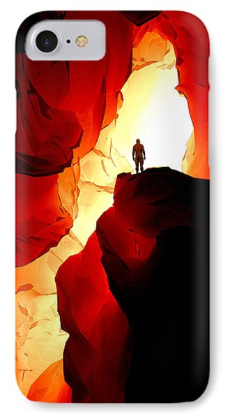 Inner Light IPhone Case by Matt Lindley