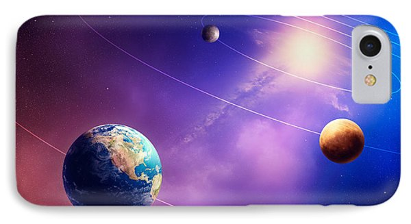 Inner Solar System Planets IPhone Case