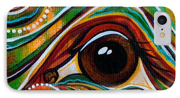 Inner Strength Spirit Eye IPhone Case