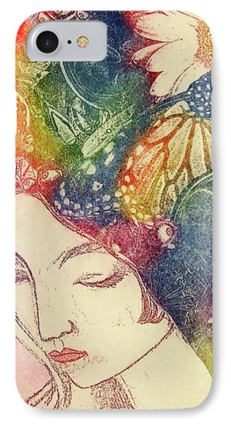 Inner Thoughts Phone Case by Juliann Sweet