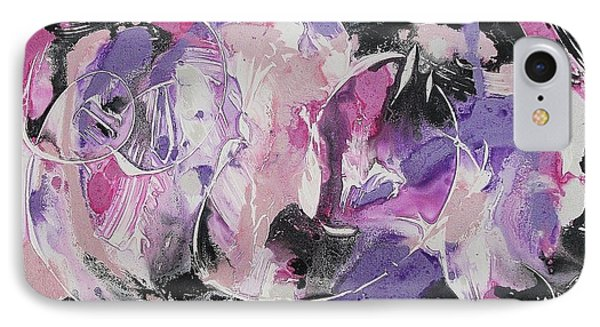 Inner Turmoil IPhone Case by Suzanne  Marie Leclair