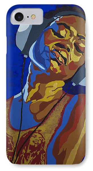 IPhone Case featuring the painting Innervisions by Rachel Natalie Rawlins