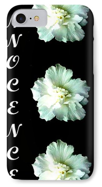 Innocence Inspirational Art Collection By Saribelle Rodriguez IPhone Case by Saribelle Rodriguez