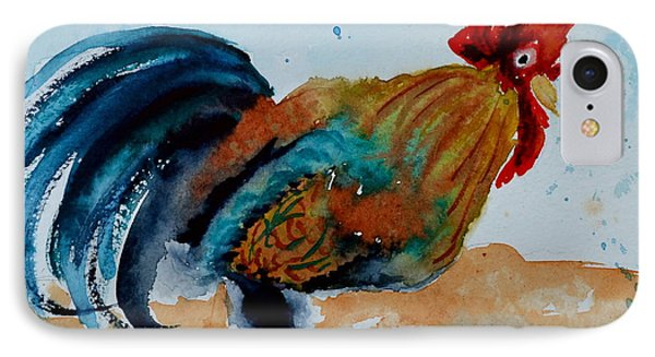 Innocent Rooster Phone Case by Beverley Harper Tinsley