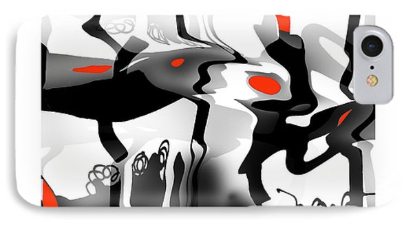 IPhone Case featuring the digital art Insect  T  Sides by Bob Salo