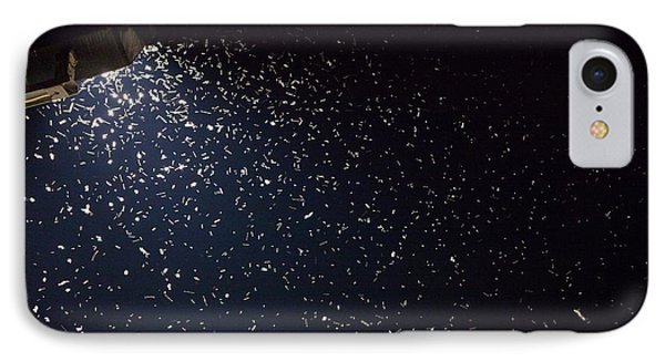 Insects Attracted To A Flood Light IPhone Case