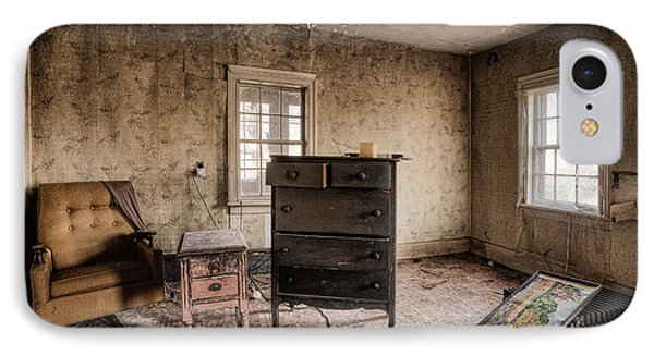 Inside Abandoned House Photos - Old Room - Life Long Gone Phone Case by Gary Heller