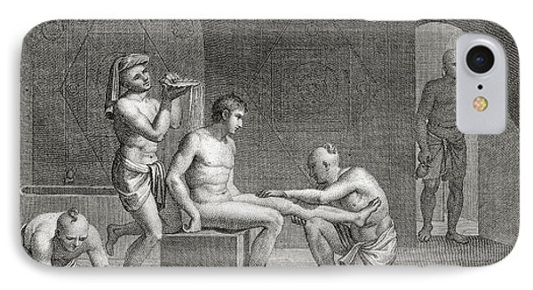 Inside An Egyptian Bathhouse, C.1820s Phone Case by Dominique Vivant Denon
