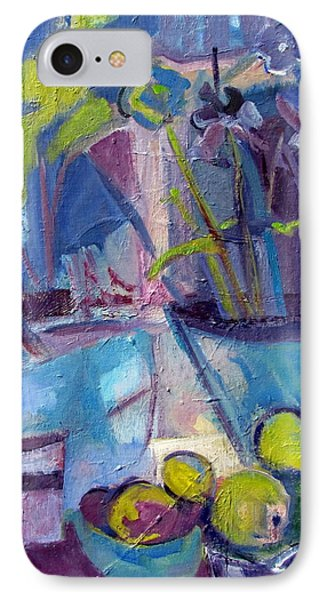Inside And Outside Abstract Expressionism IPhone Case by Betty Pieper