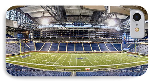 Inside Ford Field IPhone Case by John McGraw