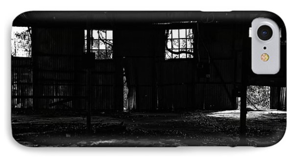 IPhone Case featuring the photograph Inside Old Warehouse by Susan D Moody