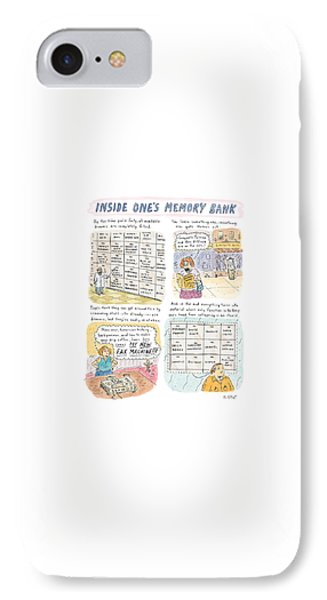 'inside One's Memory Bank' IPhone Case